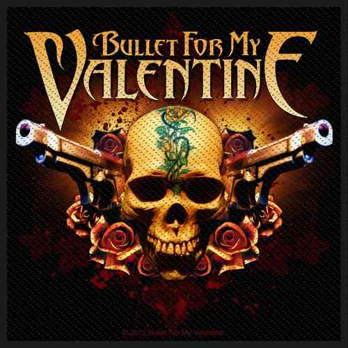"Bullet for my Valentine - Aufnäher ""Two Pistols"""