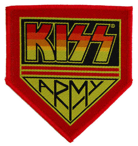 "Kiss - Aufnäher ""Kiss Army Badge"""