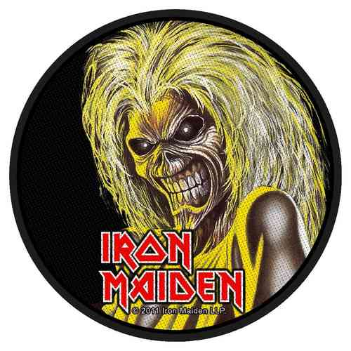 "Iron Maiden - Aufnäher ""Killers Face"""