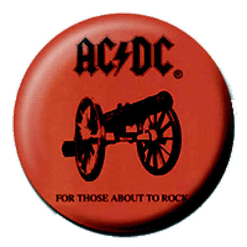 "AC/DC - Minianstecker ""For those about to rock"""
