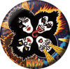 "Kiss - Minianstecker ""Band"""