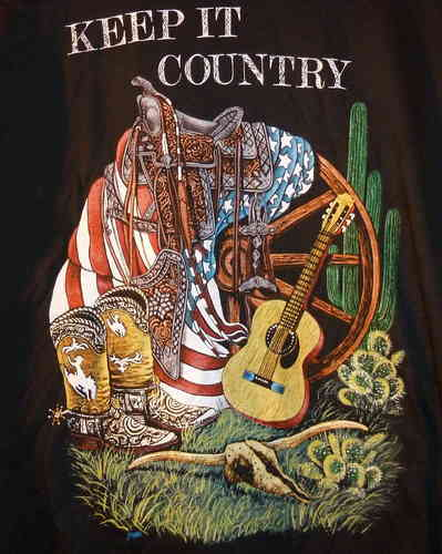 "T-Shirt ""Keep it Country"""