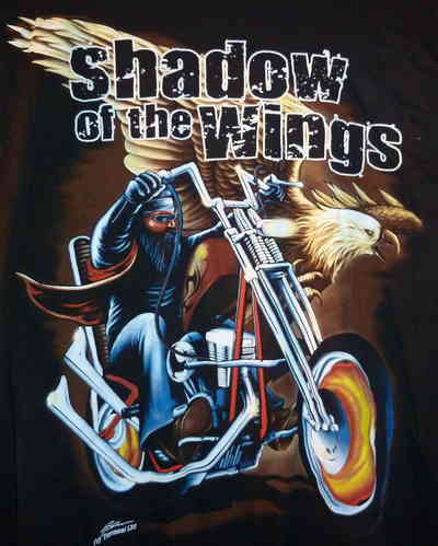 "T-Shirt ""Shadow of the Wings"", Größe XXL"